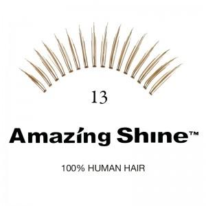 Amazing Shine - Falsche Wimpern - Wimpernbänder - Nr. 13 - Echthaar
