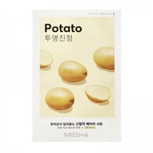 MISSHA - Gesichtsmaske - Airy Fit Sheet Mask - Potato