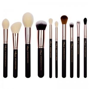 lenibrush - Kosmetikpinselset - Must-Have Set - Matte Black Edition