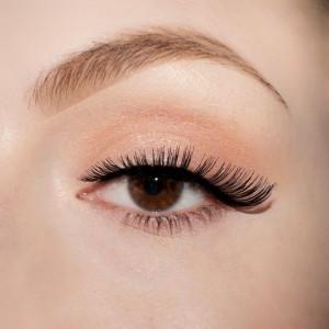 lenilash - False Eyelashes - Black - Human Hair - Nr.146