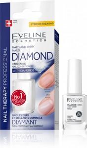 Eveline Cosmetics - Nail Therapy Professional Diamond Hard And Shiny Nails 12Ml