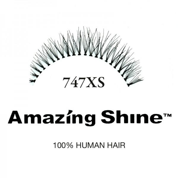 Amazing Shine - False Eyelashes - Nr. 747XS - Humanhair