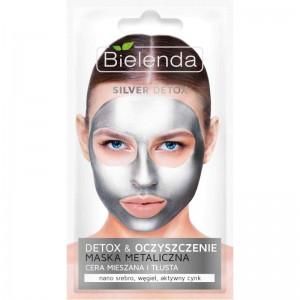 Bielenda - Gesichtsmaske - Silver Detox Detoxifying Face Mask Mischhaut