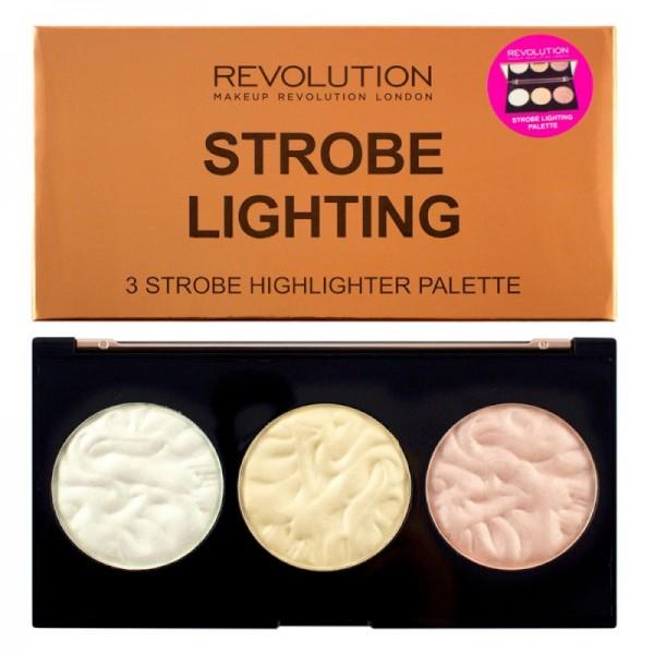 Makeup Revolution - Highlighterpalette - Strobe Lighting Palette