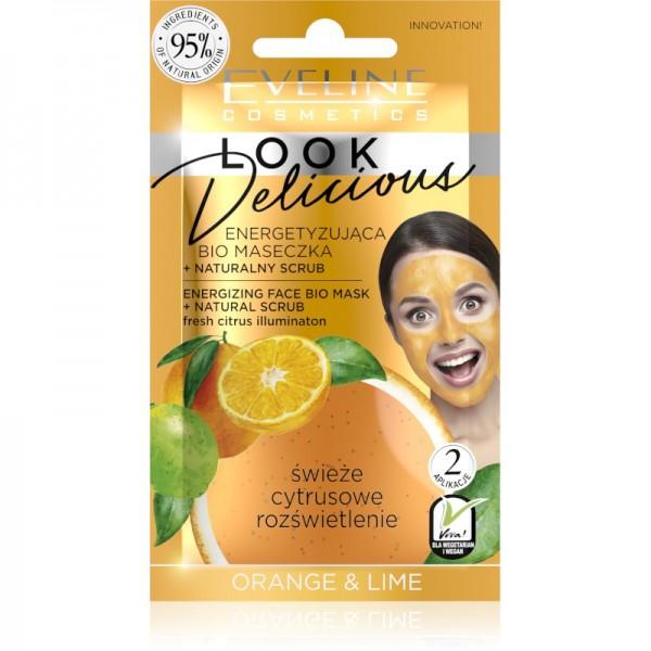 Eveline Cosmetics - Gesichtsmaske - Look Delicious Face Mask Fresh Citrus Illumination