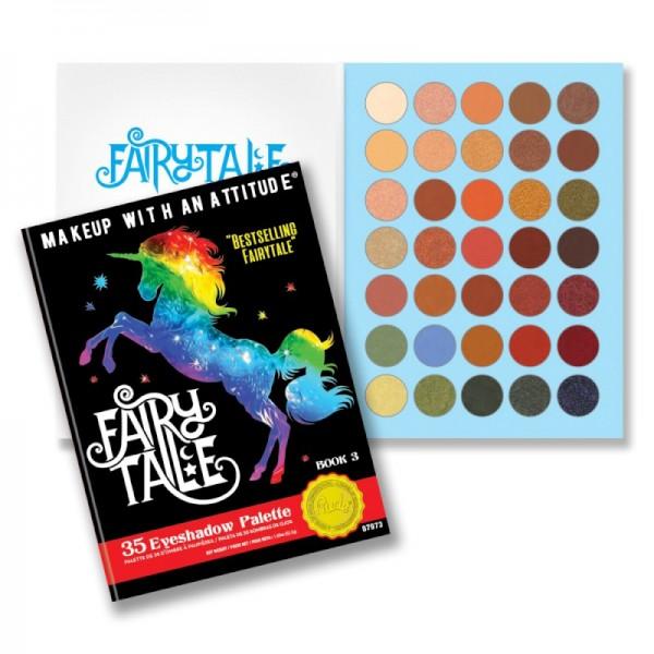 RUDE Cosmetics - Lidschattenpalette - 35 Eyeshadow Palette Fairytale - Book 3