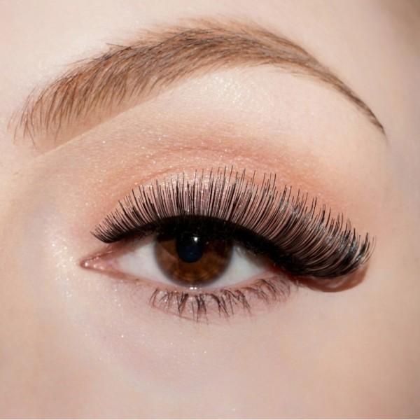 lenilash - False Eyelashes - Black - Nr.109 - Human Hair