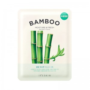 Its Skin - Gesichtsmaske - The Fresh Mask Sheet - Bamboo