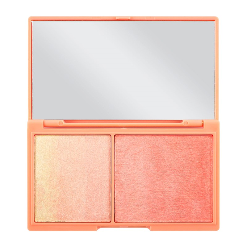 Makeup Palette Peach And Glow