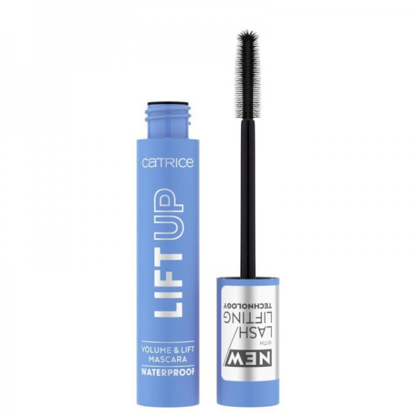 Catrice - Mascara - LIFT UP Volume & Lift Mascara Waterproof - 010 Deep Black Waterproof