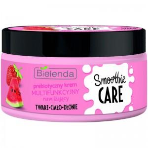 Bielenda - Hautcreme - Smoothie Care Prebiotic Multifunctional Cream - Moisturizing Strawberry + Wat