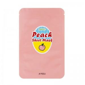 APIEU - Mask - Peach & Yogurt Sheet Mask