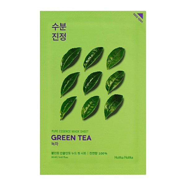 Holika Holika - Pure Essence Mask Sheet - Green Tea