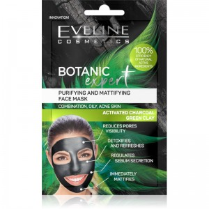 Eveline Cosmetics - Botanic Expert Purifying&Mattifying Face Mask 2X5Ml