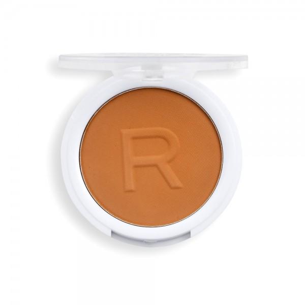 Revolution - Puder - Super Matte Pressed Powder - Dark Tan