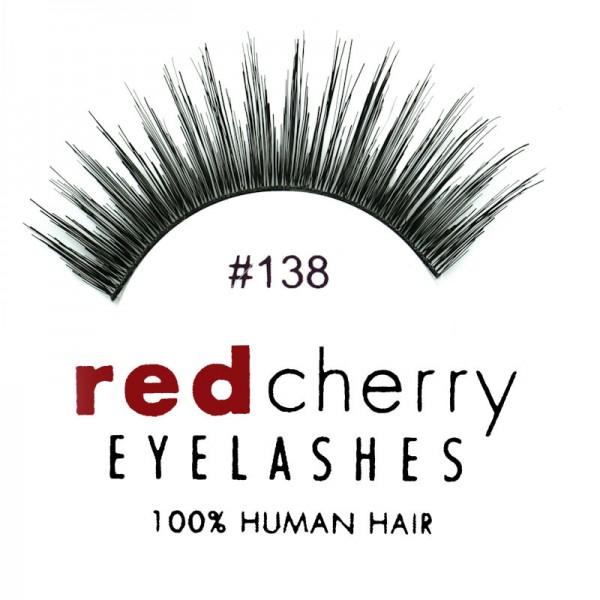 Red Cherry - False Eyelashes No. 138 Winter - Human Hair