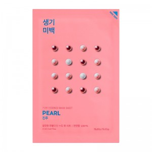 Holika Holika - Gesichtsmaske - Pure Essence Mask Sheet - Pearl