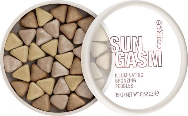 Catrice - SUNGASM Illuminating Bronzing Pebbles