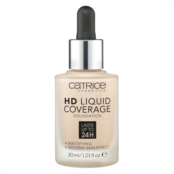Catrice - Foundation - HD Liquid Coverage Foundation - 010 Light Beige