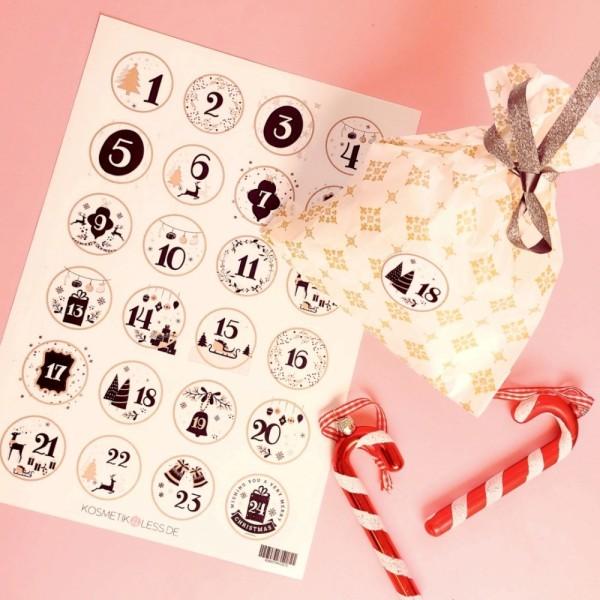 lenibeauty - DIY Adventskalenderset 9 - DIY Advent Calendar Set