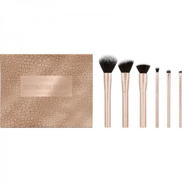 Catrice - Kosmetikpinselset - Tansation - Destination Desert 6 Face & Eye Brush Set
