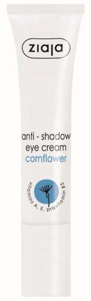Ziaja - Augencreme - Gegen Augenringe - Anti Shadow Eye Cream - Kornblume
