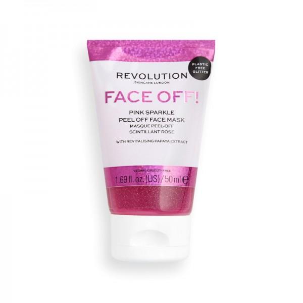 Revolution - Pink Glitter Peel Off Mask