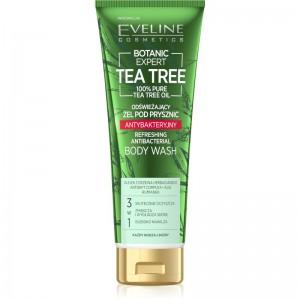 Eveline Cosmetics - Gel doccia - Botanic Expert Tea Tree Refreshing Antibacterial Body Wash - 250ml