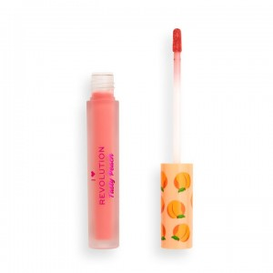 I Heart Revolution - Flüssiger Lippenstift - Tasty Peach Soft Peach Liquid Lipstick - Apricot