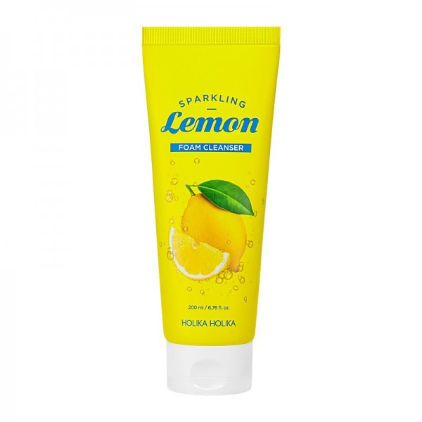 Holika Holika - Sparkling Lemon Foam Cleanser