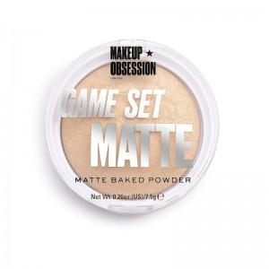 Makeup Obsession - Puder - Game Set Matte - Matte Powder Navagio