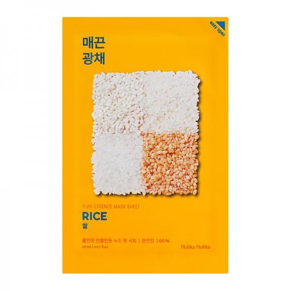 Holika Holika - Pure Essence Mask Sheet - Rice