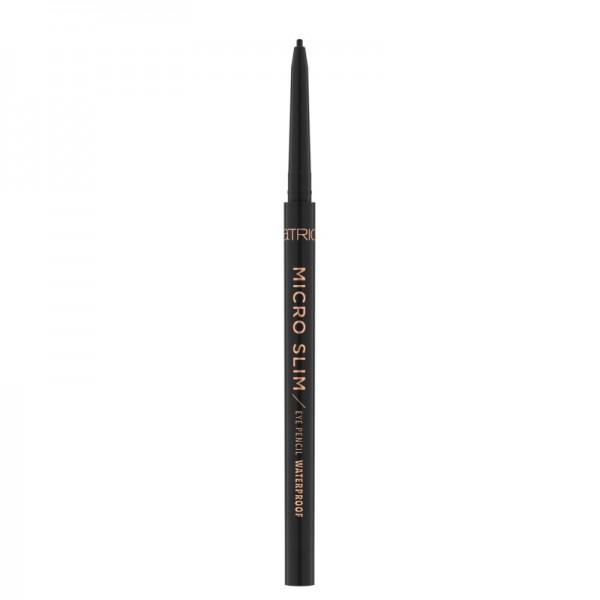 Catrice - Eyeliner - Micro Slim Eye Pencil Waterproof 010 - Black Perfection