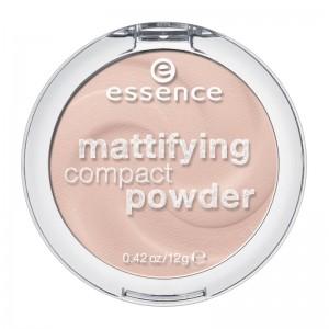 essence - Puder - mattifying compact powder - 10 light beige
