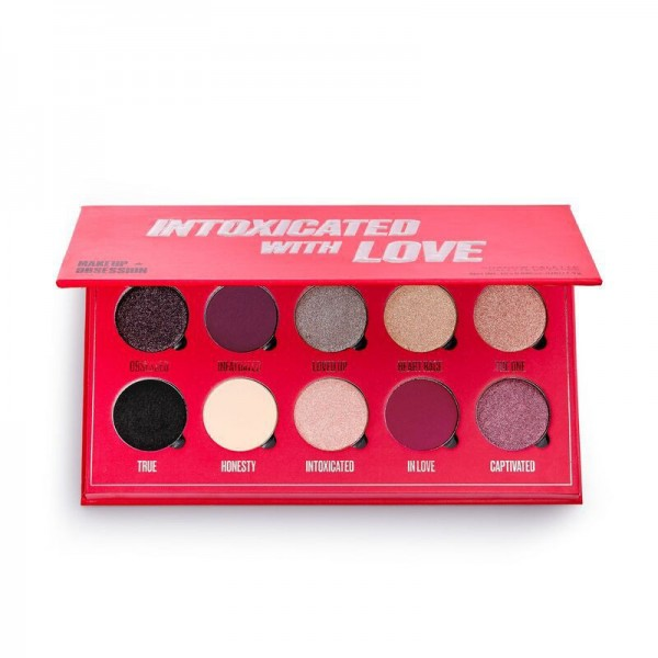 Makeup Obsession - Lidschattenpalette - Shadow Palette Intoxicated By Love