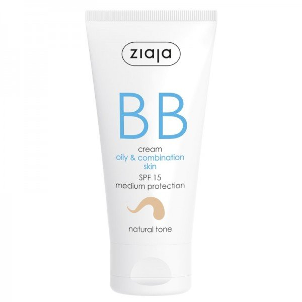 Ziaja - Gesichtspflege - BB Cream - Oily and Combination Skin - Natural Tone SPF15