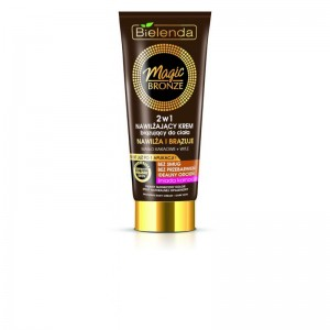 Bielenda - Magic Bronze Moisturizing Bronzing Body Cream 2 In 1 - Dark Skin