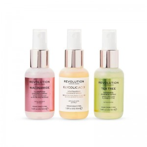 Revolution -  Gesichtsspray - Skincare Mini Essence Spray Collection - So Soothing