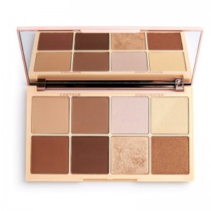 Revolution - Highlight & Contour Palette - X Roxxsaurus Highlight & Contour Palette