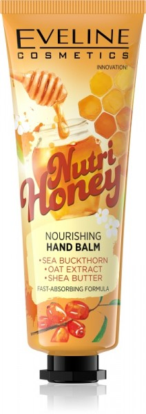 Eveline Cosmetics - Handcreme - Nutri Honey Handbalsam
