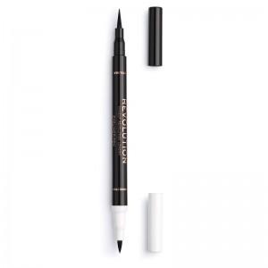 Revolution - Eyeliner - Revolution Flick & Correct Eyeliner & Corrector Pen