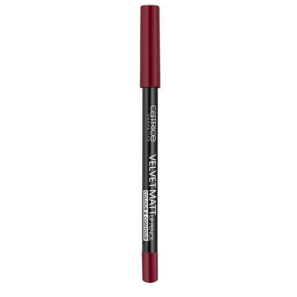 Catrice - Lip Liner - Velvet Matt Lip Pencil Colour & Contour 050 - I Feel So AlluRED