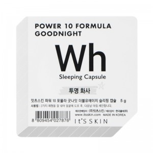 Its Skin - Gesichtsmaske - Power 10 Formula Goodnight Sleeping Capsule WH