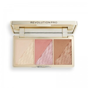 Revolution Pro - Face Palette - Crystal Luxe Face Palette - Rose Fresco