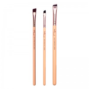 lenibrush - Kosmetikpinselset - Fine Liner Set - The Nudes Edition