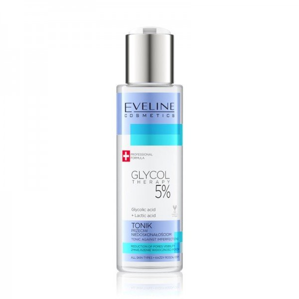 Eveline Cosmetics - Gesichtswasser - Glycol Therapy 5% Tonic Against Imperfections - 110ml