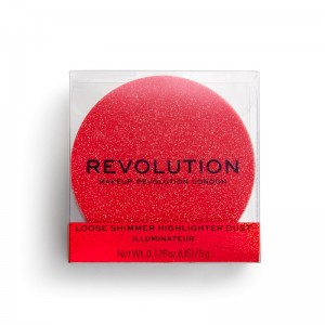 Revolution - Highlighter - Shimmer Dust - Ruby Crush