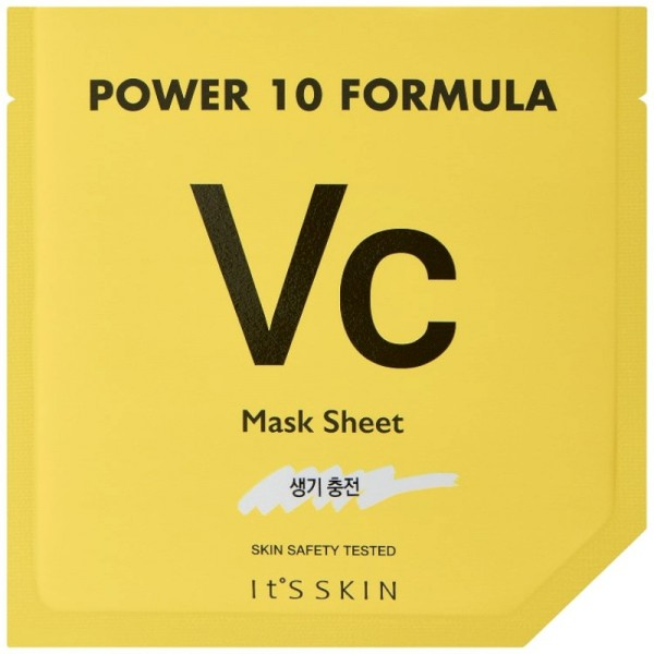 Its Skin - Gesichtsmaske - Power 10 Formula VC Mask Sheet