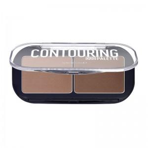 essence - Konturpalette - contouring duo palette - darker skin 20