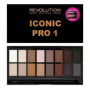 Makeup Revolution - Eyeshadow Palette - Salvation Palette - Iconic Pro 1